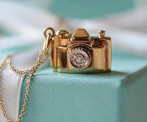 camera, gold, and photography image