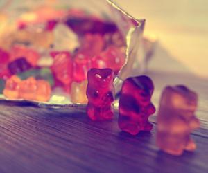 sweet, bear, and gummy bears image