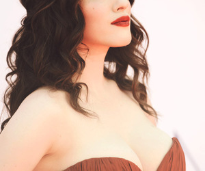 boobs, cleavage, and Kat Dennings image