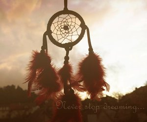 dreamcatcher and sunlight image