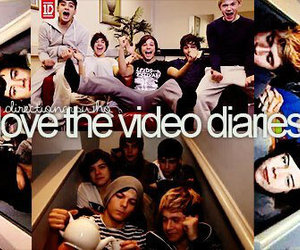 one direction, video diaries, and 1d image