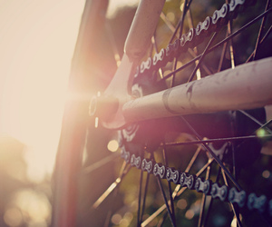 bike, bycicle, and chain image