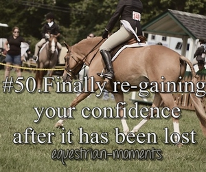 confidence, happy, and horse image