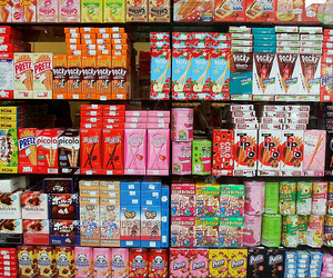 food, pocky, and japan image