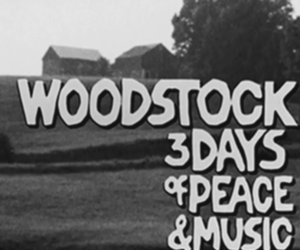hippie, music, and woodstock image