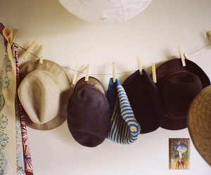 hat, vintage, and photography image
