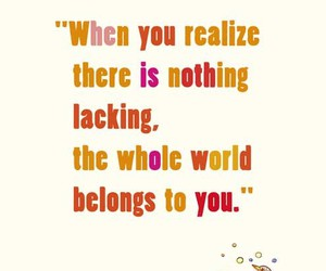 nothing, quote, and realize image