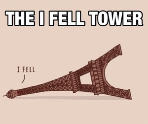funny, lol, and tower image
