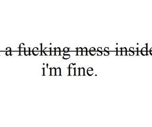 broken, depressed, and pain image
