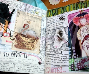 creative, diary, and scrapbook image