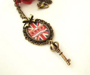 bow, jewelry, and london image