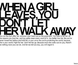 girl, quote, and boy image
