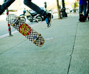 skateboard, boy, and photography image