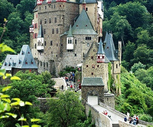 castle, architecture, and europe image