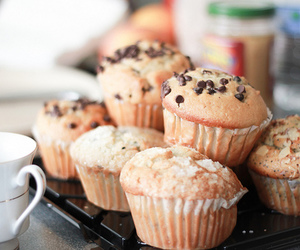 food, cupcake, and muffin image