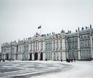 russia, snow, and st petersburg image