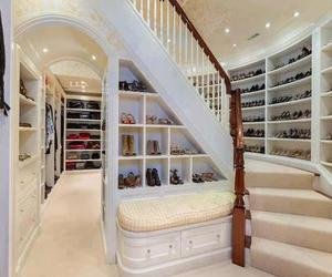 shoes, closet, and clothes image