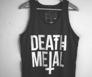 metal, fashion, and death image