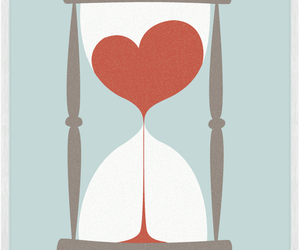 love, heart, and time image
