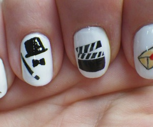 nails, black, and movie image