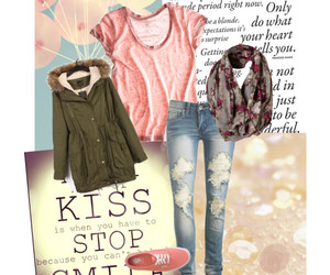 clothes, pink, and Polyvore image