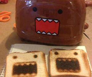 toast, toaster, and domo image