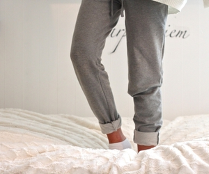 bed, fashion, and girl image