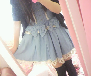 kawaii, dress, and cute image