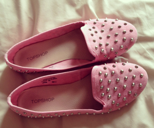 shoes, pink, and topshop image
