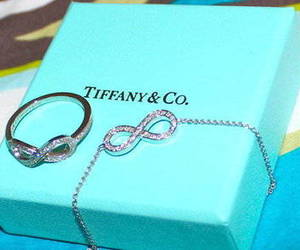 ring, infinity, and tiffany image
