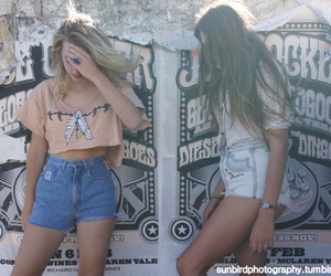 girls, hair, and blonde image