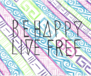 happy, live, and free image