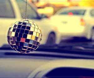 car and disco image