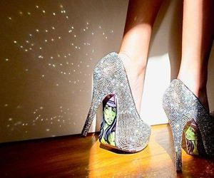 disco, green, and heels image