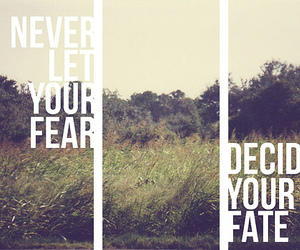 advice, decide, and fear image