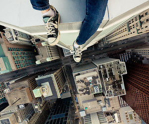 city, converse, and building image