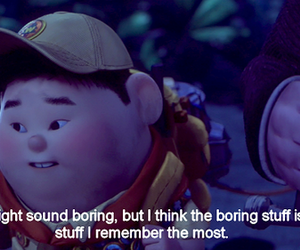 up, disney, and quote image