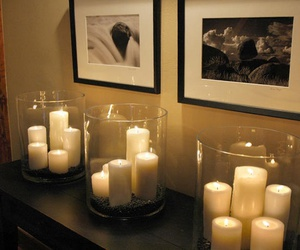 candle, home, and decoration image