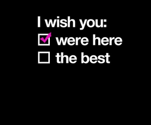 wish, text, and quote image