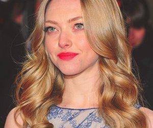 amanda seyfried, lips, and blonde image