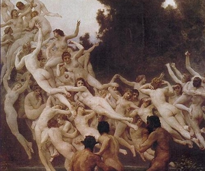 bouguereau, painting, and erotic art image