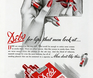advertisement, cigarette, and commercial image