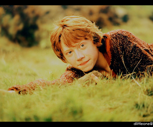 ron weasley, rupert grint, and harry potter image