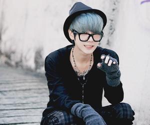 colored, fashion, and korean model image