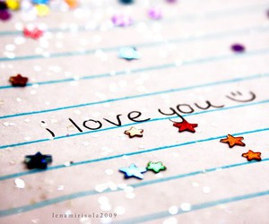 love, stars, and I Love You image