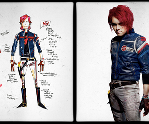 gerard way, my chemical romance, and party poison image
