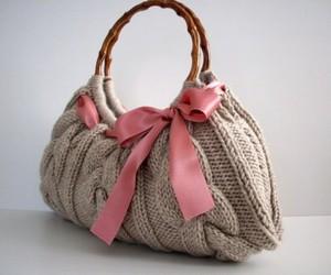 bag, fashion, and bow image