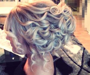 blonde, hair, and hairdo image