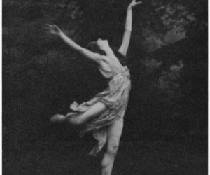 black and white, dance, and dancing image