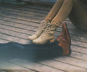 shoes, hipster, and vintage image